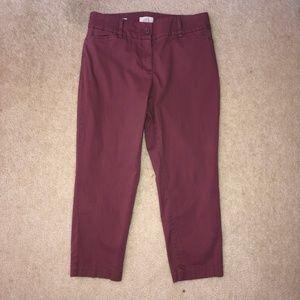 LOFT Crop Pants